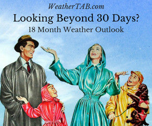 WeatherTAB 18 month weather outlook